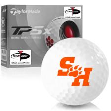 Taylor Made TP5x Sam Houston State Bearkats Golf Balls