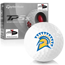 Taylor Made TP5x San Jose State Spartans Golf Balls