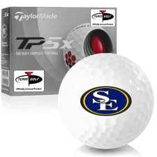 Taylor Made TP5x Southeastern Oklahoma State Savage Storm Golf Balls