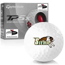 Taylor Made TP5x Siena Saints Golf Balls