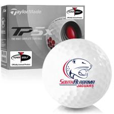 Taylor Made TP5x South Alabama Jaguars Golf Balls