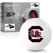 Taylor Made TP5x South Carolina Fighting Gamecocks Golf Balls