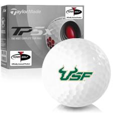 Taylor Made TP5x South Florida Bulls Golf Balls
