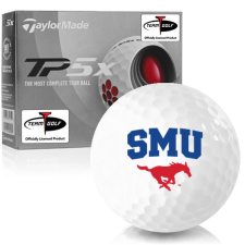 Taylor Made TP5x SMU Mustangs Golf Balls