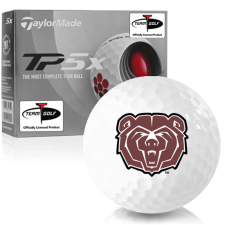 Taylor Made TP5x Southwest Missouri State Bears Golf Balls