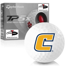 Taylor Made TP5x Tennessee Chattanooga Mocs Golf Balls