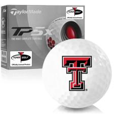 Taylor Made TP5x Texas Tech Red Raiders Golf Balls