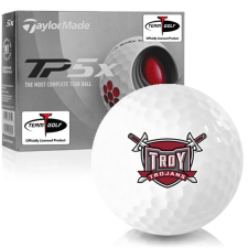 Taylor Made TP5x Troy Trojans Golf Balls