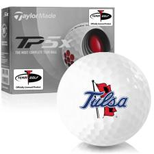 Taylor Made TP5x Tulsa Golden Hurricane Golf Balls