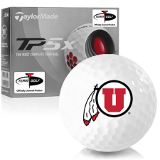 Taylor Made TP5x Utah Utes Golf Balls