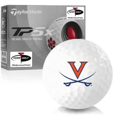 Taylor Made TP5x Virginia Cavaliers Golf Balls