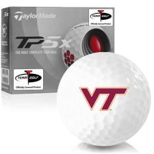 Taylor Made TP5x Virginia Tech Hokies Golf Balls