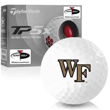 Taylor Made TP5x Wake Forest Demon Deacons Golf Balls