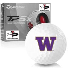 Taylor Made TP5x Washington Huskies Golf Balls