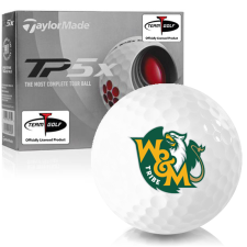 Taylor Made TP5x William & Mary Tribe Golf Balls