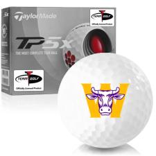Taylor Made TP5x Williams College Ephs Golf Balls